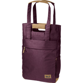 Jack Wolfskin Piccadilly Shopper Bag burgundy